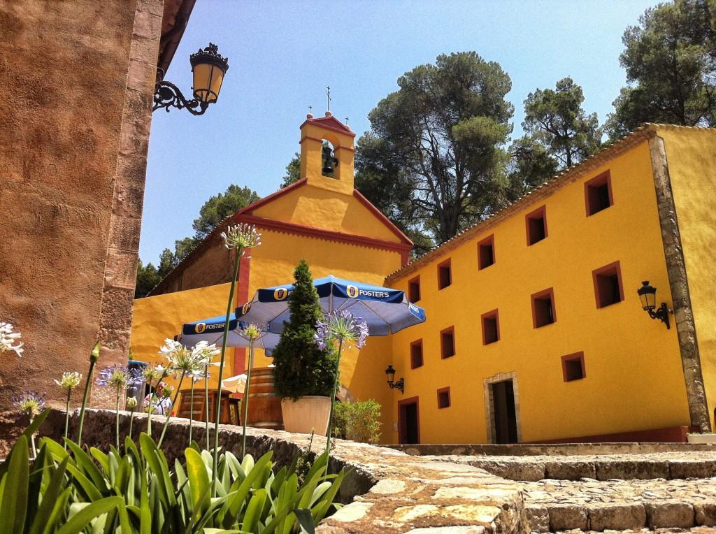 Ermita de Santa Marina exterior