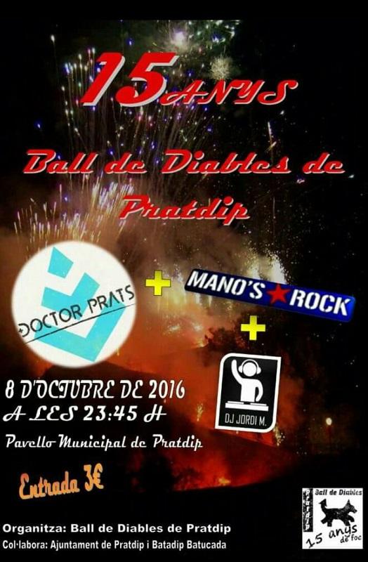 Concert 15è aniversari Ball de Diables de Pratdip