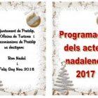 Programació dels actes nadalencs 2017